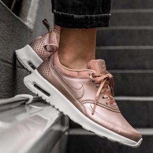 Rose Gold Nike Air Max Thea SE Sneaker
